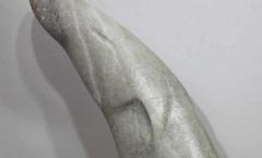 Almost invisible sculpture repair - soap stone otters broken neck